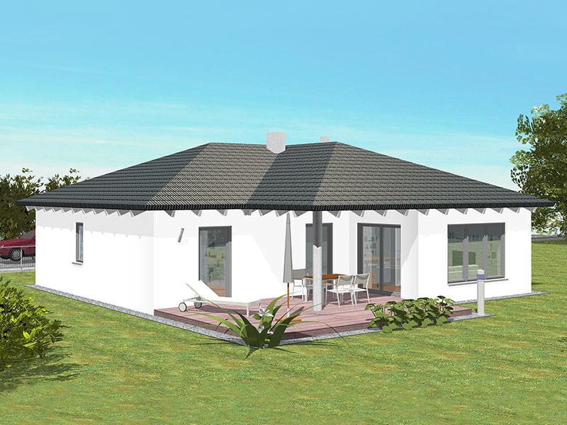 Massivhaus bungalow  Einfamilienhaus Dürer - Georg Ehrenreich GmbH | Ehrenreich ...