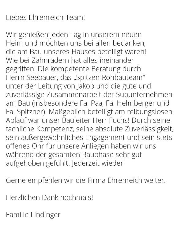 Baufirma Regensburg referenzschreiben georg ehrenreich gmbh referenzen ehrenreich